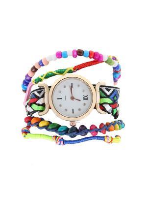 Браслет-часы Olere. Цвет: фиолетовый, зеленый, синий