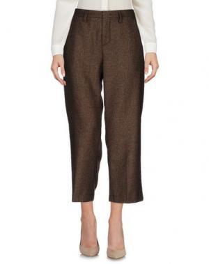 Повседневные брюки MAISON CLOCHARD. Цвет: хаки