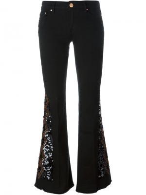 Декорированные брюки Carmen  Dont Cry Don't. Цвет: чёрный