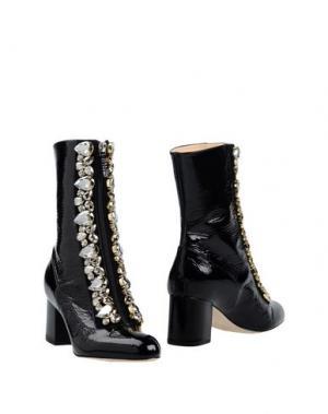 Полусапоги и высокие ботинки GEDEBE. Цвет: черный