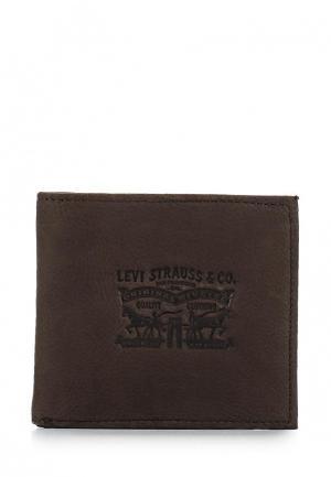 Портмоне Levis® Levi's®. Цвет: коричневый