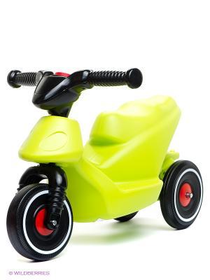 Скутер 3-х колесный Big Bobbн. Цвет: салатовый