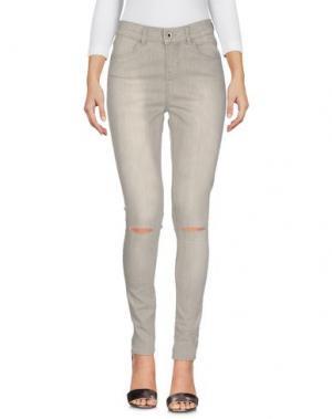 Джинсовые брюки SEVEN7. Цвет: серый
