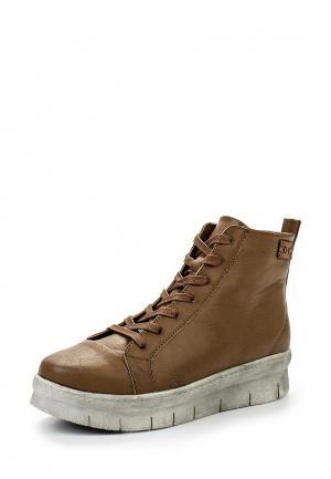 Ботинки Lisaw. Цвет: коричневый