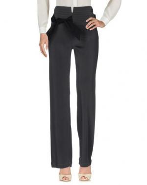 Повседневные брюки GENTRYPORTOFINO. Цвет: стальной серый