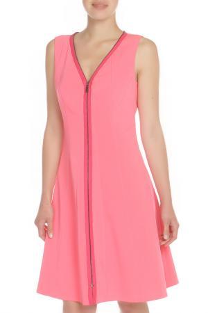Платье Elie Tahari. Цвет: коралловый