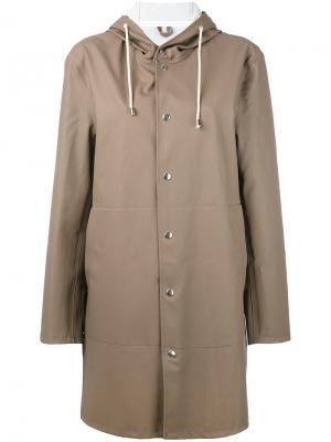 Пальто Goteborg Stutterheim. Цвет: серый