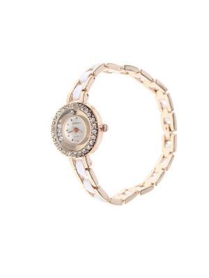 Браслет-часы Olere. Цвет: золотистый, белый