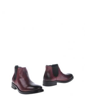 Полусапоги и высокие ботинки BOEMOS. Цвет: пурпурный