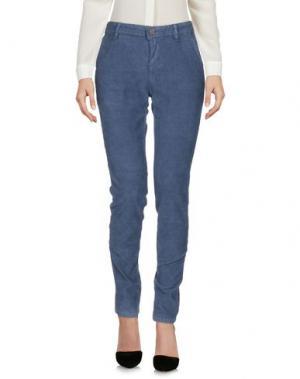 Повседневные брюки CIMARRON. Цвет: грифельно-синий