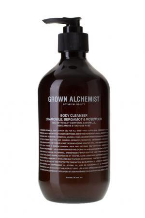 Гель для душа Ромашка, бергамот, розовое дерево, 500 ml Grown Alchemist. Цвет: без цвета