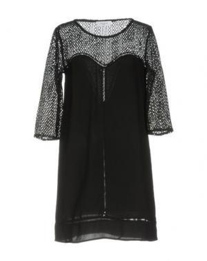Короткое платье AXARA PARIS. Цвет: черный