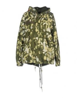 Куртка JO NO FUI. Цвет: зеленый