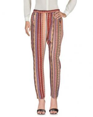 Повседневные брюки BOUTIQUE de la FEMME. Цвет: желтый