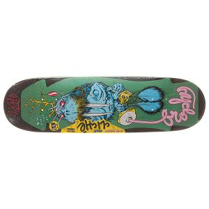 Дека для скейтборда  S6 R7 Brophy Walrus By Cliver Assorted 32 x 8.625 (21.9 см) Cliche. Цвет: мультиколор