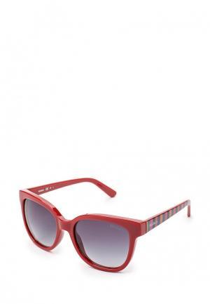Очки солнцезащитные Max&Co. Цвет: бордовый