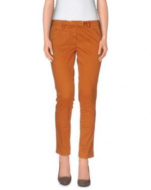 Повседневные брюки GABARDINE. Цвет: коричневый