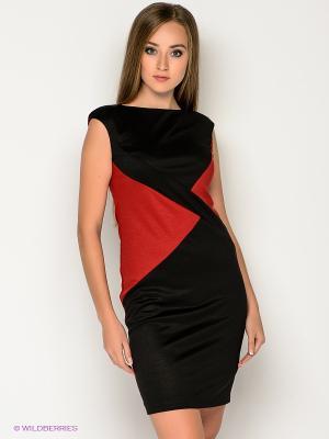 Платье МадаМ Т. Цвет: черный, красный