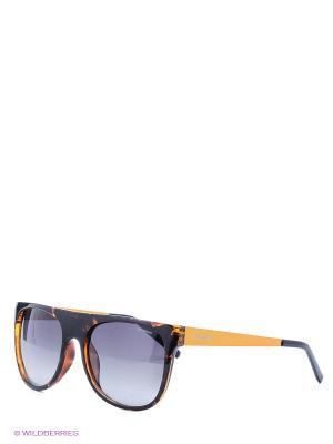Солнцезащитные очки Polaroid. Цвет: коричневый, желтый