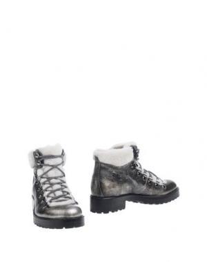 Полусапоги и высокие ботинки CORVARI. Цвет: свинцово-серый