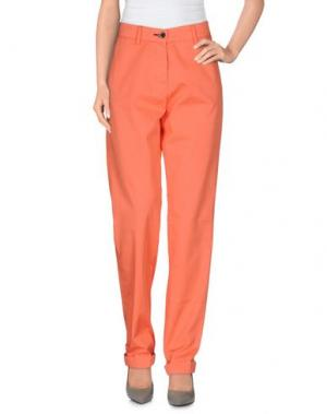 Повседневные брюки SHINE. Цвет: лососево-розовый