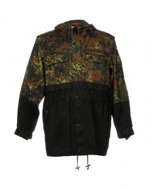 Куртка KOMAKINO. Цвет: зеленый-милитари