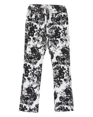 Джинсовые брюки PHILIPP PLEIN. Цвет: темно-коричневый