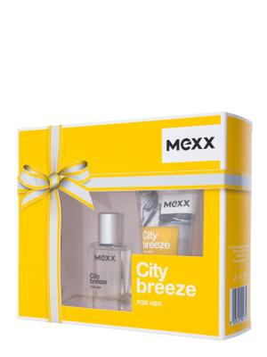City Breeze Woman Набор Туалетная вода 15 мл+гель для душа 50 мл MEXX. Цвет: прозрачный