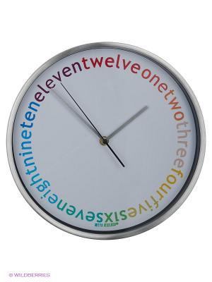 Часы настенные Abbey Road Mitya Veselkov. Цвет: серебристый