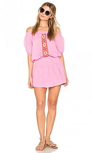 Платье brisban PIPER. Цвет: розовый