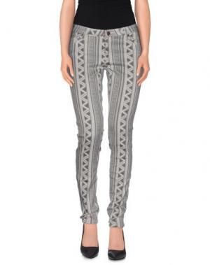 Повседневные брюки SASS & BIDE. Цвет: серый