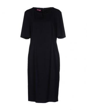 Платье до колена BASLER. Цвет: темно-синий