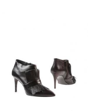 Ботинки ZINDA. Цвет: темно-коричневый