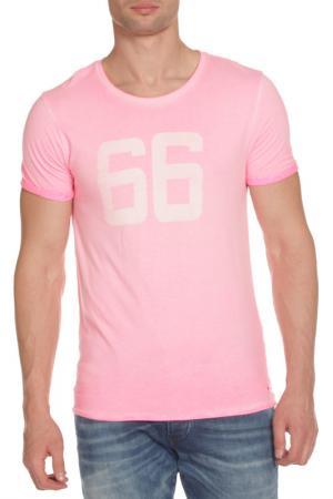 Футболка Scotch&Soda. Цвет: light pink, светло-розовый
