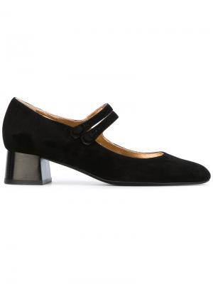 Туфли-лодочки Mary Jane Michel Vivien. Цвет: чёрный