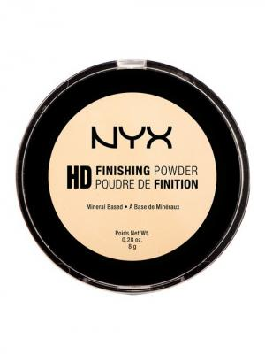 Пудра HD HIGH DEFINITION FINISHING POWDER - BANANA 02 NYX PROFESSIONAL MAKEUP. Цвет: желтый