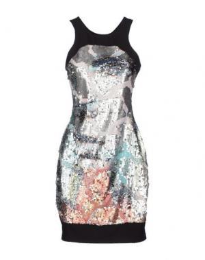 Короткое платье SOOZ BY ISABEL C.. Цвет: серебристый