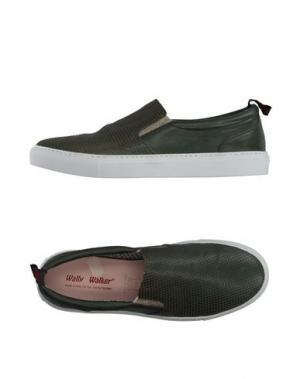 Низкие кеды и кроссовки WALLY WALKER. Цвет: темно-зеленый