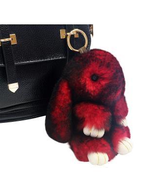 Кролик-брелок GOOD MOOD коллекция: LUX. Цвет: красный