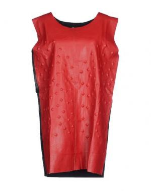 Короткое платье ODI ET AMO. Цвет: красный