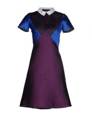 Короткое платье OSTWALD HELGASON. Цвет: фиолетовый