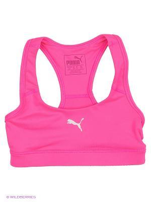 Топ Active Dry Bra G Puma. Цвет: розовый