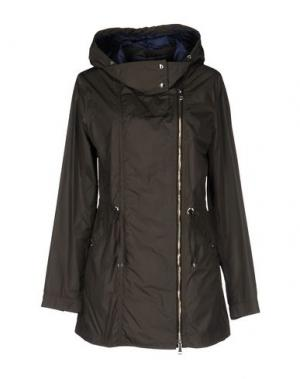 Легкое пальто MABRUN. Цвет: свинцово-серый