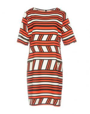 Платье до колена SALLY NEW YORK. Цвет: красный