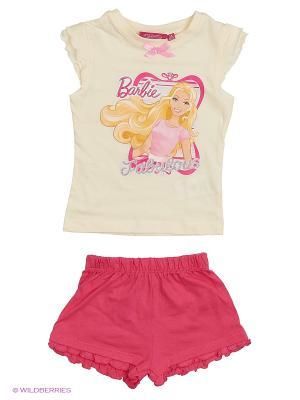 Пижама Barbie. Цвет: белый