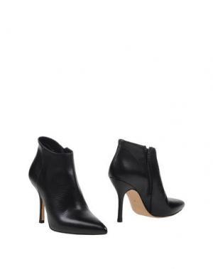 Полусапоги и высокие ботинки STRATEGIA. Цвет: темно-зеленый