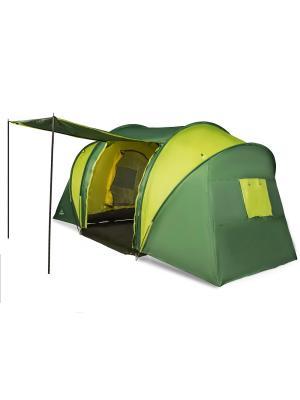 Палатка 6-и местная GREENWOOD. Цвет: зеленый, светло-зеленый