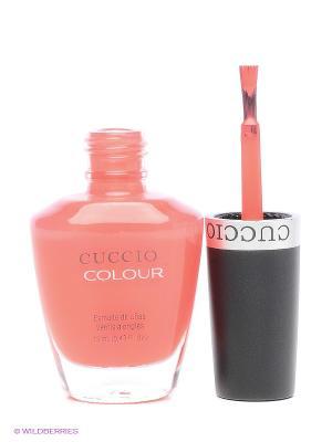 Лак для ногтей Cuccio Colour, Chillin in Chil COLOUR. Цвет: коралловый