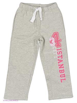 Спортивные брюки WonderKids. Цвет: серый