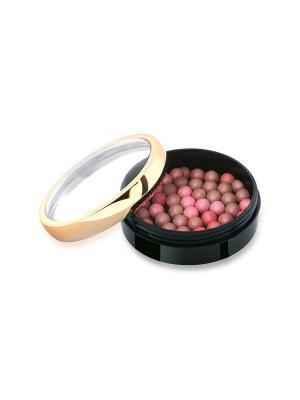 Шариковые румяна. Тон 01. Golden Rose... Цвет: бежевый, коралловый, розовый